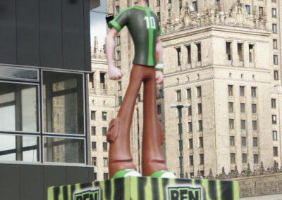 Cartoon Network – wielkoformatowe figury bohaterów nowej serii Ben 10, 2012