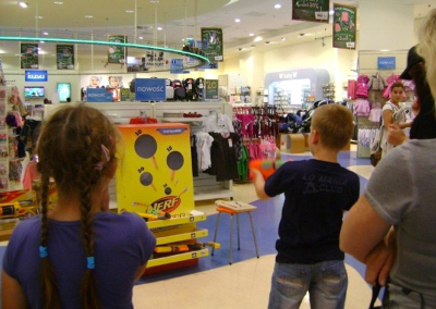 "Hasbro, Nerf – ""Ustrzel swój rabat"", 2012"