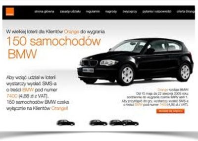 Megaloteria operatorska – Orange 2009