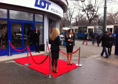 PLL LOT – otwarcie salonu obsługi klienta w Krakowie, 2012